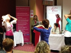 Hilary Jeffries Nia Demonstration at Feel Good Extravaganza Event